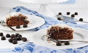 Skúffukaka-isländischer Schokoladenkuchen