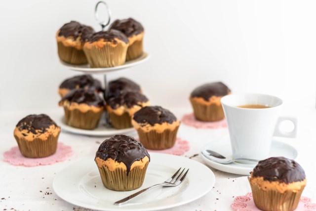 Zitronen-Marmor Muffins