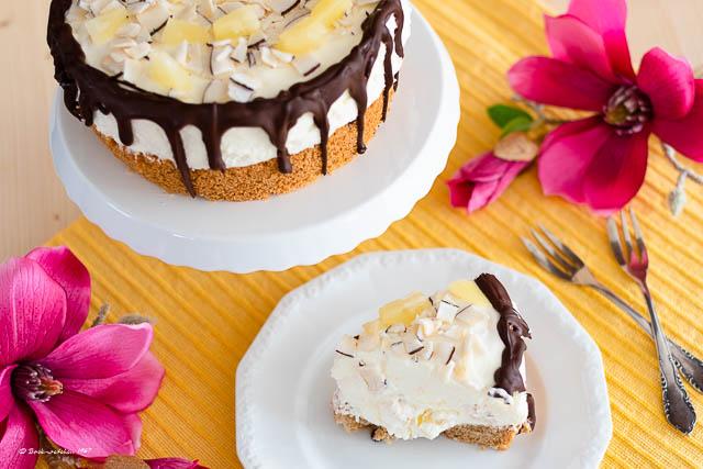 Ananas Torte Biskuit