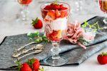Erdbeer Trifle