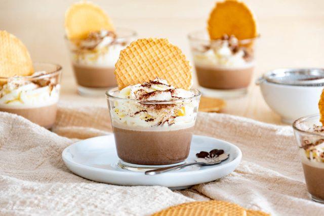 Schoko Dessert mit Creme Double