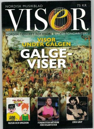 Visor Nordisk tidskrift för singer/songwriters nr 4 2014