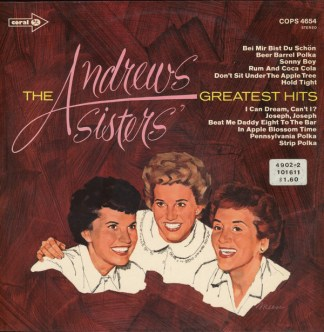 Andrew Sisters greatest hits