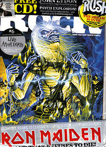 Classic Rock nr 215 Iron Maiden