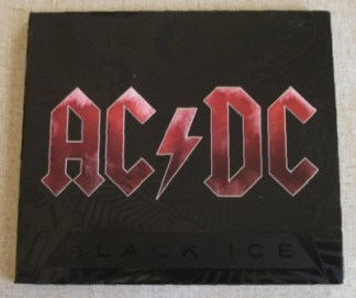 CD AC/DC Black Ice