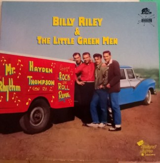Billy Riley & The Little Green Men The Roland James Sessions