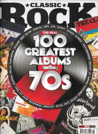 Classic Rock nr 222 100 greatest albums of the 70´s