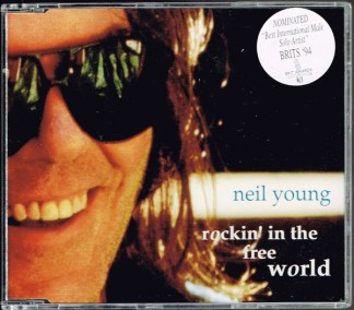 CD-singel Neil Young Rockin´ in the free world