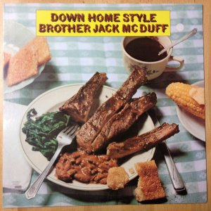 CD Brother Jack McDuff Down home style
