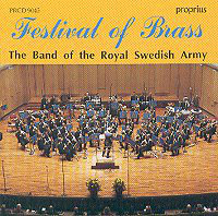 CD Festival of Brass The band of the royal swedish army