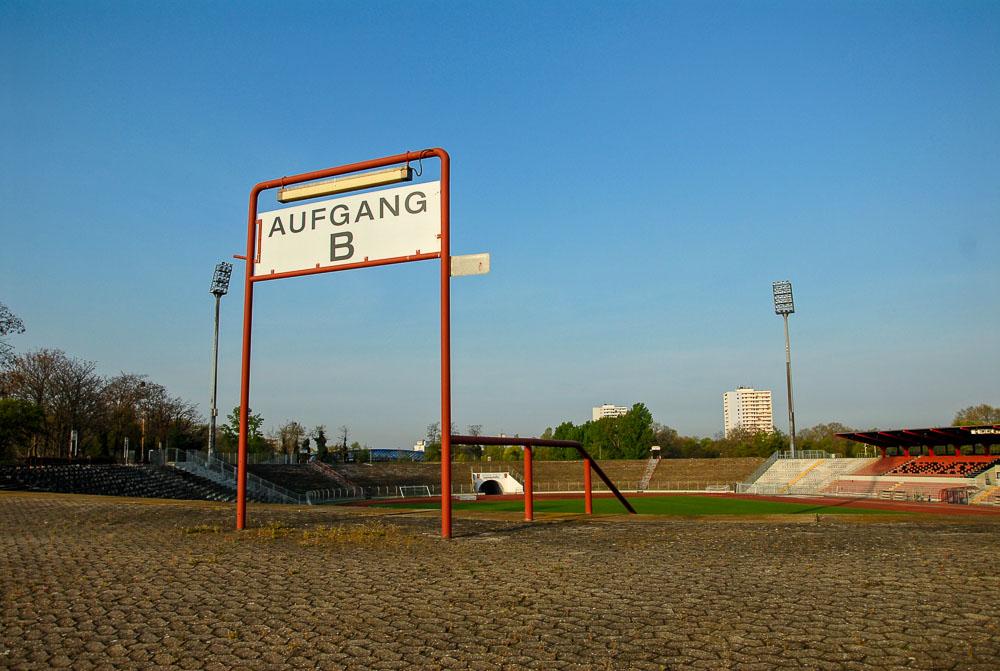 Stadion Ludwigshafen Heimspiele Bernd Sautter