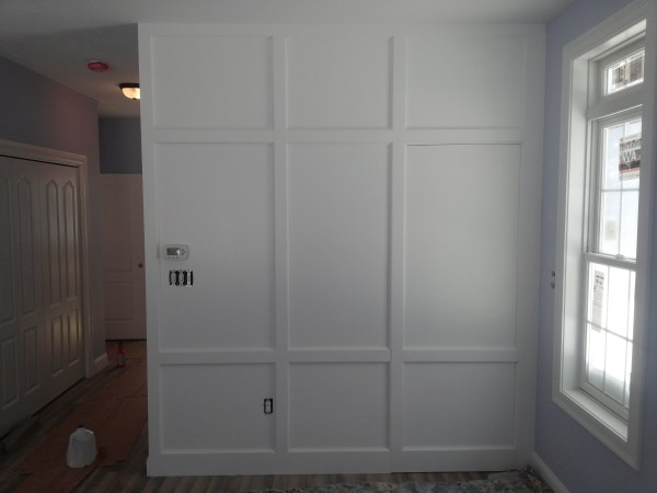 Interior Raised Panel Walls