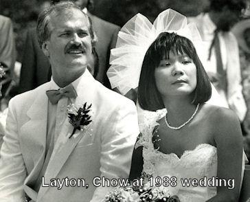 Image: Jack Layton and Olivia Chow at 1988 wedding