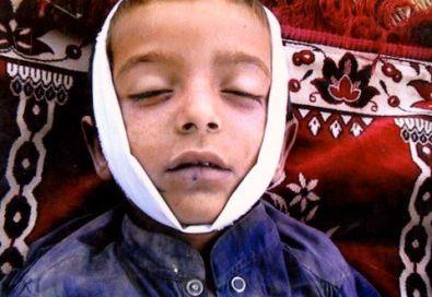 Pakistani child Syed Wali Shah, 7, killed by drone