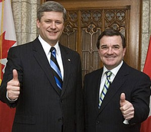Harper and Flaherty give thumbs-up