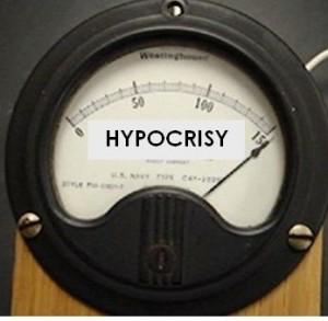 """meter reading """"hypocrisy"""""""