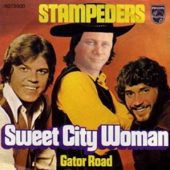 Harper on Stampeders album