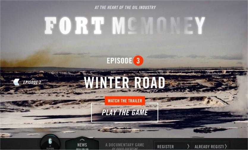 Fort McMoney screen shot
