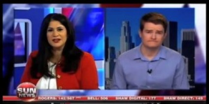 Scott Voorman intervewed on Sun News Network