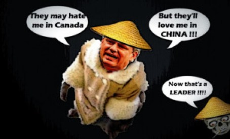 Cartoon of Harper
