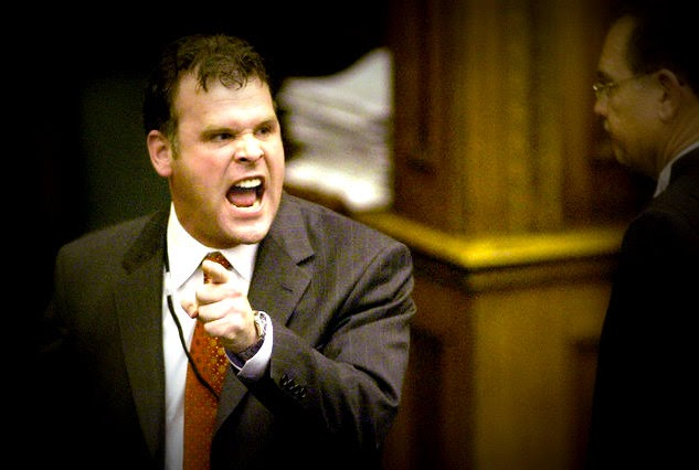 John Baird in Parliament, angry