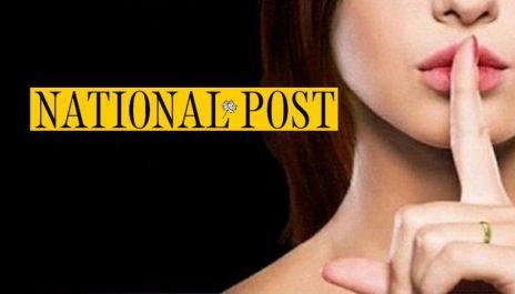 Ashley Madison image with National Post logo