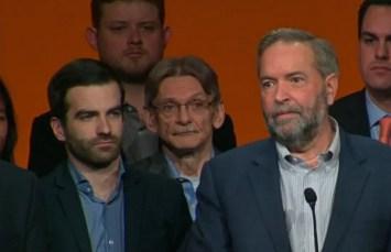 Mulcair farewell at 2016 NDP convention