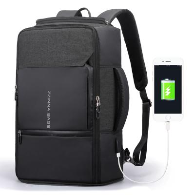 Business backpack large capacity 17 inch Laptop Backpack Black