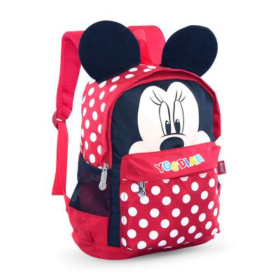 Mickey's school Small backpack for boys and girls Backpack Red