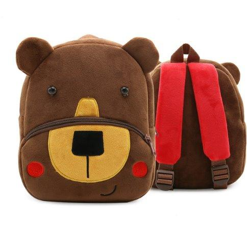 Children small school animal backpack Backpack Bear