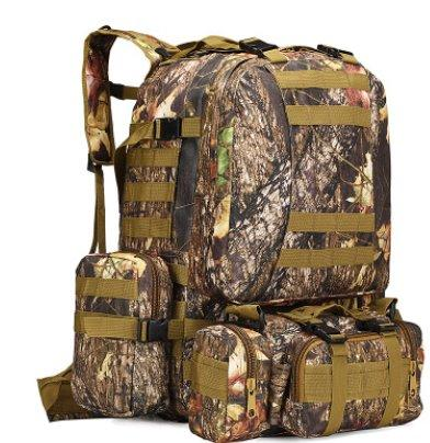 Outdoor Camouflage Tactical Travel Bacpack Backpack Maple Leaf Camouflage