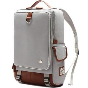 Fashion Canvas Retro Travel Backpack Backpack Gray