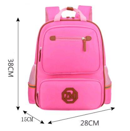 British wind children's backpack Backpack Pink