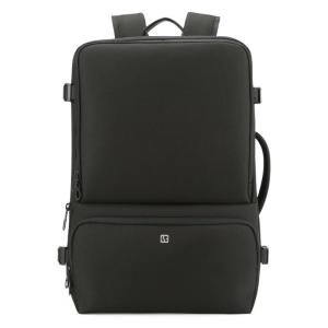 "17"" Large capacity Men's Laptop backpack Backpack Black"