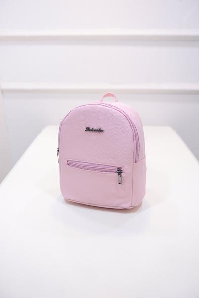 Candy color small Women backpack Backpack Pink