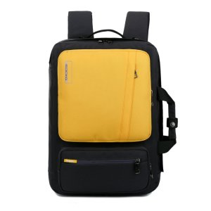 Men and Women Anti-theft Laptop backpack Backpack Yellow 15.6 inch