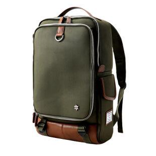 Fashion Canvas Retro Travel Backpack Backpack Army Green