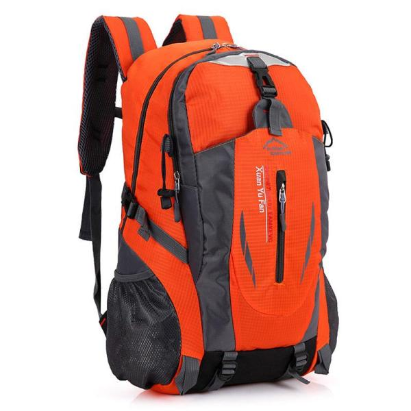 Outdoor mountaineering riding backpack Backpack Orange
