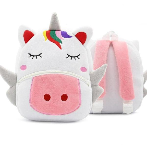 Children small school animal backpack Backpack Unicorn
