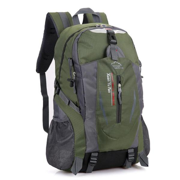 Outdoor mountaineering riding backpack Backpack Army Green