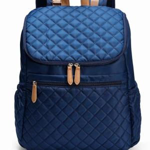 Multi-function large-capacity Women backpack Backpack Navy Blue