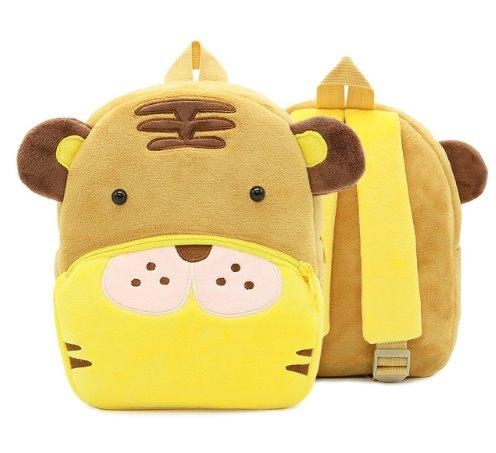 Children small school animal backpack Backpack Tiger