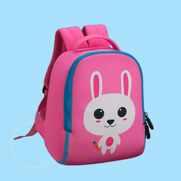 1-6 year old baby girl pink rabbit backpack Backpack Pink Big