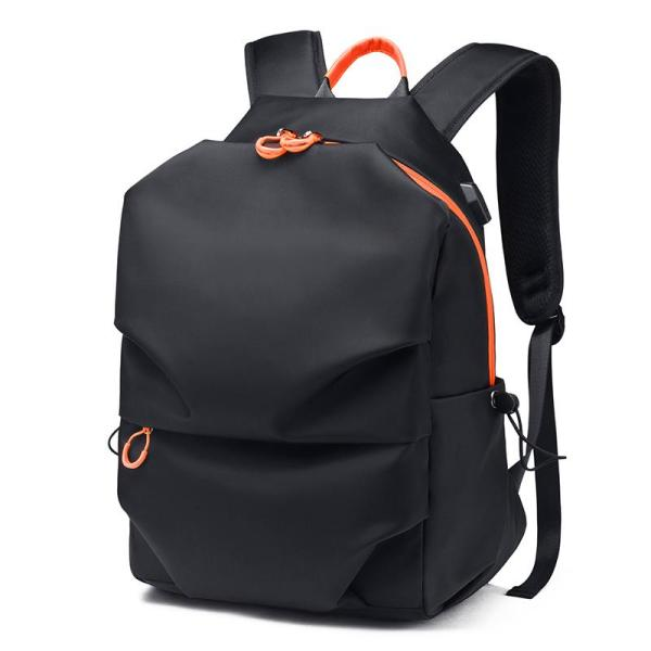 Casual student Laptop backpack Backpack Black