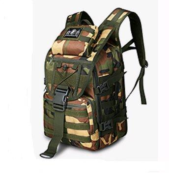 Outdoor multi-function waterproof Camouflage backpack Backpack Jungle camouflage