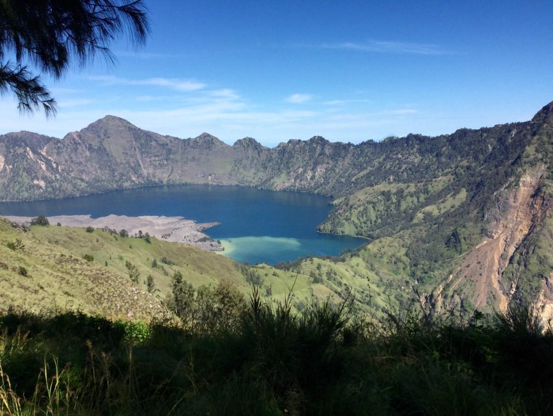 Mount Rinjani Lake