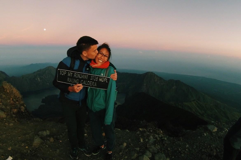 Hiking Mount Rinjani, Lombok, Indonesia
