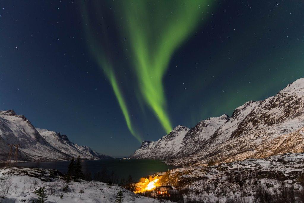 Polarlichter Backpacking Tour