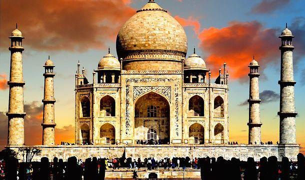 インド(アーグラ)世界遺産タージマハル