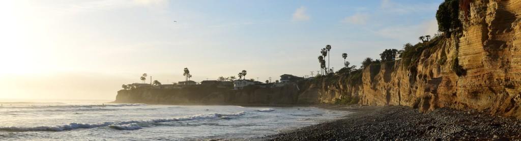 サンディエゴの美しい海岸線